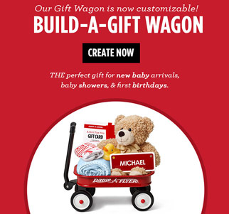 Build-A-Gift Wagon